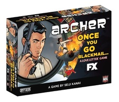 Love Letter Archer Once You Go Blackmail Boxed Edition