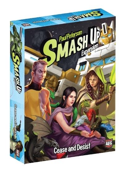 Smash Up - Cease and Desist Expansion