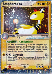 Ampharos-EX -EX - 89/97 - Rare Holo EX on Channel Fireball