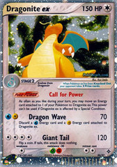 Dragonite EX - 90/97 - Rare Holo