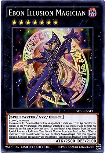 Ebon Illusion Magician - SHVI-ENSE1 - Super Rare - Limited Edition