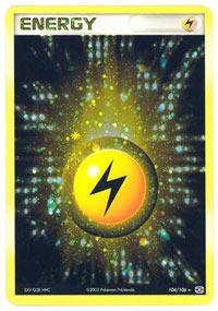Lightning Energy - 104/106 104 - Rare Holo