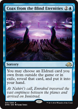 Coax from the Blind Eternities - Foil