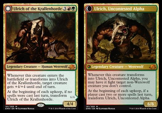 Ulrich of the Krallenhorde // Ulrich, Uncontested Alpha - Foil