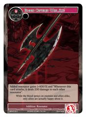 Blood Covered War Axe - BFA-019 - C on Channel Fireball