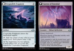 Cryptolith Fragment // Aurora of Emrakul - Foil on Channel Fireball
