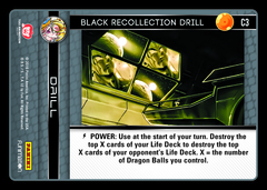 Black Recollection Drill - C3 on Channel Fireball
