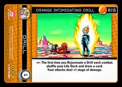 Orange Intimidating Drill - R115