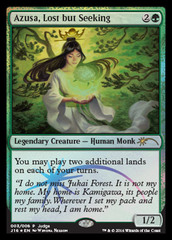 Azusa, Lost but Seeking - Foil DCI Judge Promo on Channel Fireball