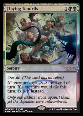 Flaying Tendrils - FNM Promo