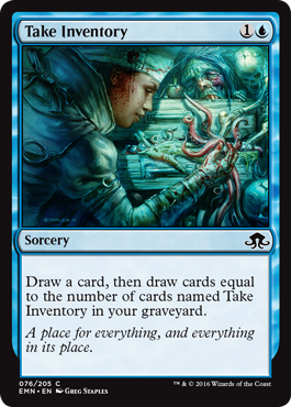 Take Inventory - Foil
