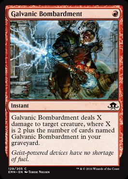 Galvanic Bombardment - Foil