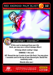 Red Android Palm Blast - C42 - Foil