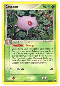 Cascoon - 30/92 - Uncommon