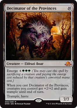 Decimator of the Provinces - Foil