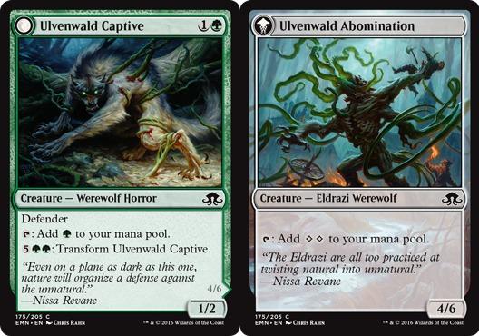 Ulvenwald Captive // Ulvenwald Abomination