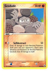 Geodude - 53/92 - Common on Channel Fireball