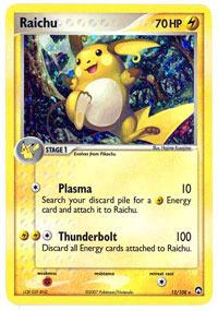 Raichu - 12/108 - Holo Rare
