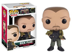 Funko POP - Heroes Series - #99 - Rick Flag