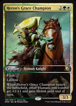 Heron's Grace Champion (Eldritch Moon Game Day)