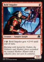 Bold Impaler - Foil on Channel Fireball