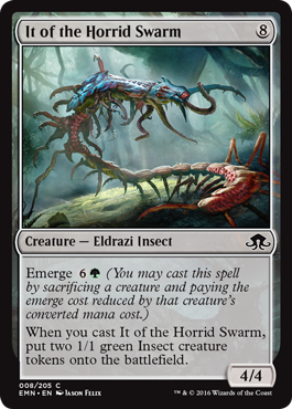 It of the Horrid Swarm - Foil