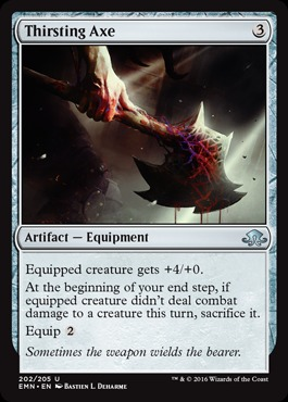 Thirsting Axe - Foil