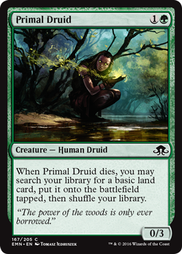 Primal Druid - Foil