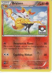 Braixen - 12/124 - XY Fates Collide - Pokemon League Promo