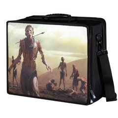 Pirate Lab Card Case: Large - Black Zombie