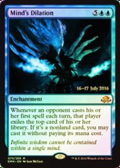 Mind's Dilation - Foil - Prerelease Promo
