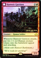 Hanweir Garrison // Hanweir, the Writhing Township (Eldritch Moon Prerelease Foil)