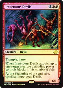 Impetuous Devils (Eldritch Moon Prerelease Foil)