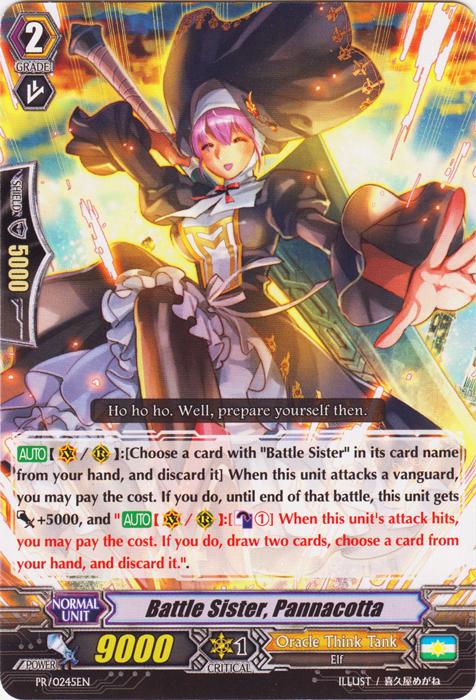 Battle Sister, Pannacotta - PR/0245EN - PR
