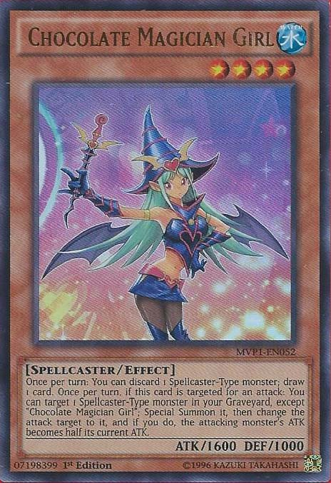 Chocolate Magician Girl - MVP1-EN052 - Ultra Rare - 1st Edition