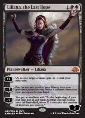 Liliana, the Last Hope - SDCC 2016 Exclusive Promo