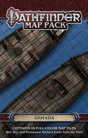 Pathfinder RPG - Map Pack - Armada