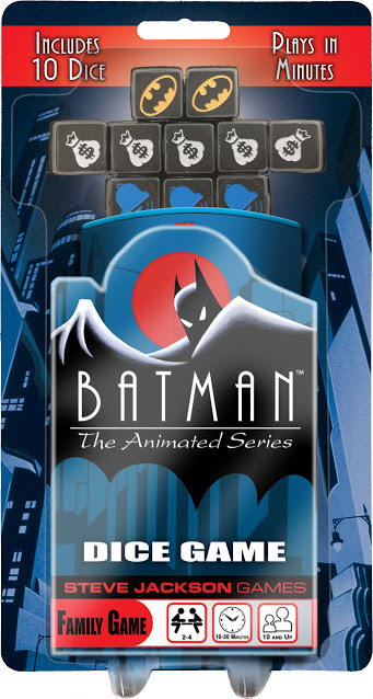 Batman - The Animated Series Dice Game