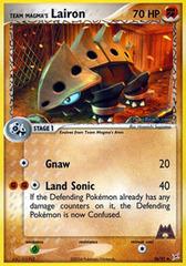 Team Magma's Lairon - 36/95 - Uncommon