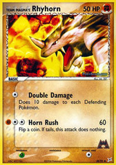 Team Magma's Rhyhorn - 38/95 - Uncommon