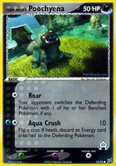 Team Aqua's Poochyena - 55/95 - Common