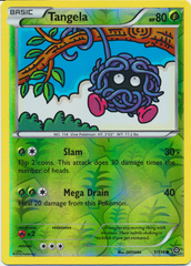 Tangela - 1/114 - Common - Reverse Holo