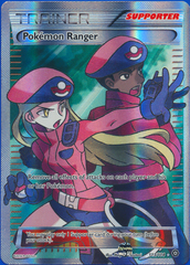 Pokemon Ranger - Full Art Ultra Rare  - 113/114