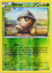 Seedot - 9/114 - Common - Reverse Holo