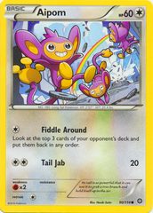Aipom - 90/114 - Common on Channel Fireball