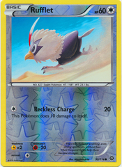 Rufflet - 92/114 - Common - Reverse Holo