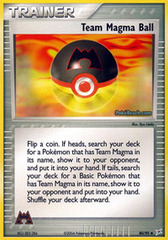 Team Magma Ball - 80/95 - Uncommon on Channel Fireball