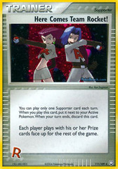 Here Comes Team Rocket! - 111/109 - Rare Holo