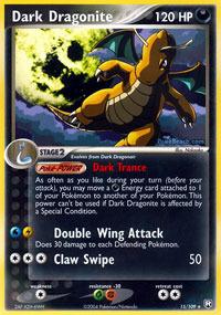 Dark Dragonite - 15/109 - Rare