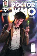 Doctor Who 11Th Year Three #1 Cvr A Burns